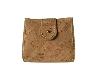 5 pockets cork wallet, with cork lining. Hand stitched with waxed beige thread. by misp https://www.etsy.com/listing/186074128/
