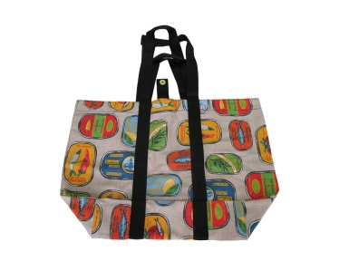 Market tote bag, foldable bag, Reusable Shopping Bag, Groceries bag. by misp (414) https://www.etsy.com/listing/216461128/