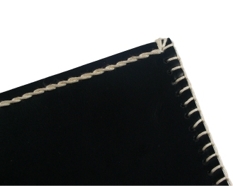 Leather card wallet, hand stitched with white thread. By misp Workshop (250) https://www.etsy.com/listing/221107532/
