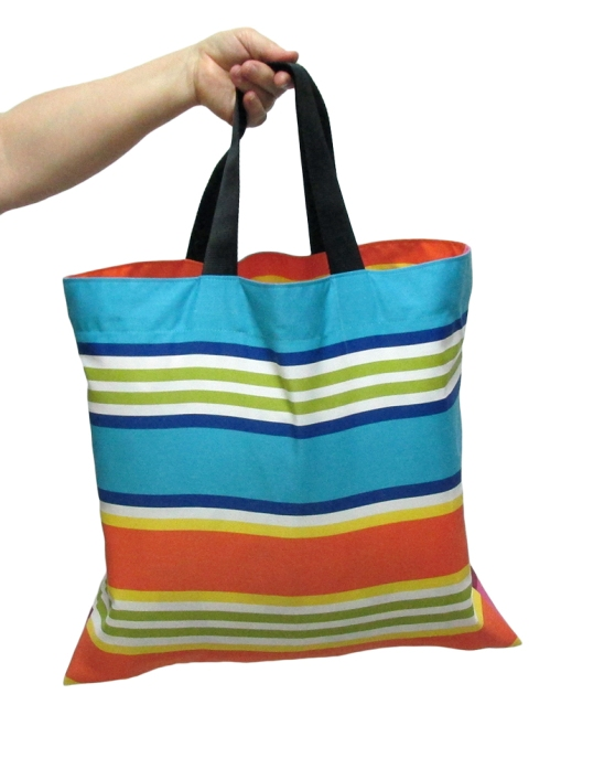 Multicolored striped market bag, Reusable Shopping Bag, Groceries bag. by misp Workshop (416) https://www.etsy.com/listing/221079269/