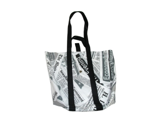 Foldable Newspaper Market bag by misp Workshop mispworkshop.com